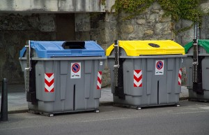 contenedores para el reciclaje de envases