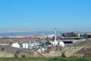 panorámica de la planta de gasificación de Valdemingómez
