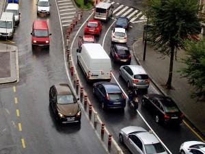 control de las emisiones del tráfico