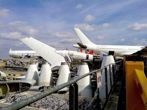la industria aeronáutica es uno de los grandes consumidores de composites termoplásticos. Foto: SUSRAC