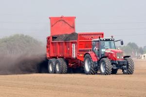 Uso de estiércol en suelo agrícola