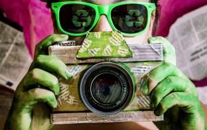 fotografía y reciclaje
