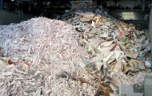 papel recuperado listo para su reciclaje