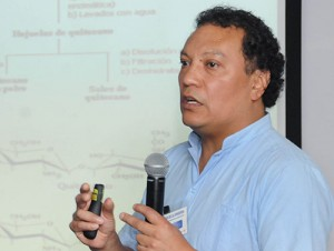 José Luz González Chávez, autor de la investigación. Foto: UNAM