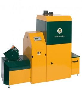 Caldera de biomasa KWB Multifire USV D 80