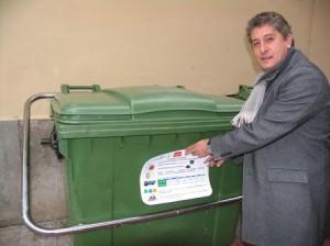 Los contenedores tendrán información sobre la adecuada gestión de residuo
