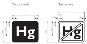 nuevas etiquetas identifican la presencia de mercurio en pantallas