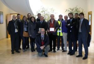 Visita de la Diputación de Málaga al complejo medioambiental de Meruelo (Cantabria)