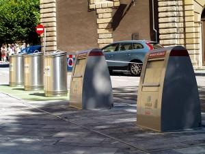 contenedores soterrados en Gijón