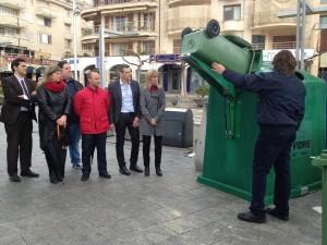Mallorca pretende aumentar el reciclaje de vidrio en las localidades más turísticas