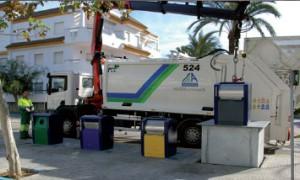 Nuevos contenedores soterrados en Rota