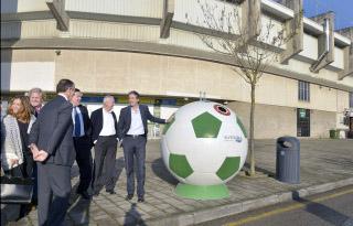 Contenedores balón en Santander