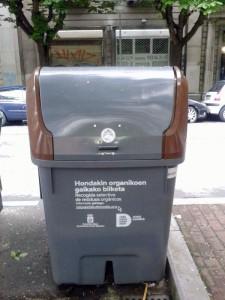 Donostia recoge biorresiduos de grandes productores