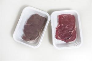Envase activo carne roja 8 dias despues