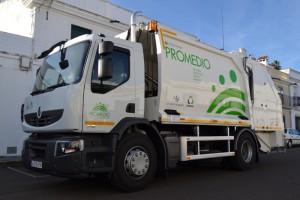 Nuevos vehículos de recogida y contenedores de residuos en la provincia de Badajoz