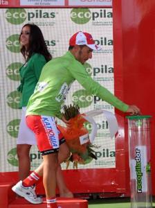 Ecopilas colabora con la Vuelta a España