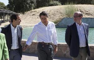 agua reciclada para regar zonas verdes en la Comunidad de Madrid