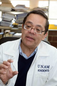 García Alejandre ha desarrollado un método limpio para reciclar neumáticos usados
