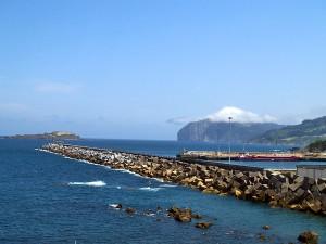 11.000 toneladas de residuos industriales se han reutilizado en la reconstrucción del puerto de Bermeo