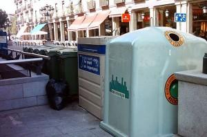 Campaña para fomentar el reciclaje de vidrio en Segovia