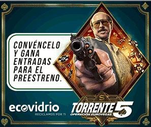 La campaña anima a convencer a Torrente para que recicle