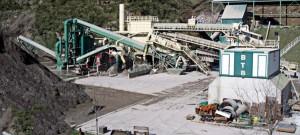 Planta BTB de valorización de residuos de construcción, situada en Ortuella (Bizkaia)