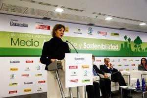 Isabel García Tejerina apostó por la economía verde como factor de competitividad