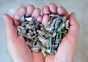 La tecnología de clasificación por sensores permite recuperar metales con una gran pureza