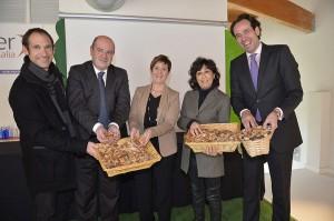 El Gobierno Vasco lanza una iniciativa de apoyo al uso de biomasa forestal