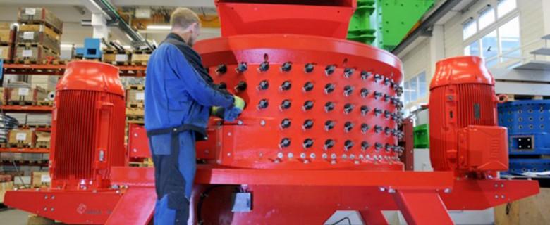 Delaminador CCM2RT para la recuperación de metales