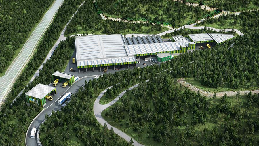 Acuerdo para financiar la planta de compostaje de Epele (Gipuzkoa)