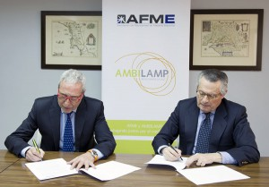 los fabricantes de material eléctrico colaborarán con AMBILAMP para la gestión de sus residuos