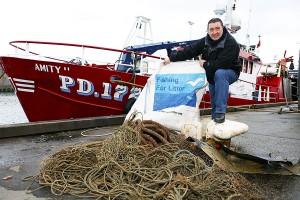 Los pescadores europeos se involucran en la lucha contra la basura marina