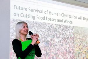 Selina Juul, fundadora del movimiento Stop Wasting Food contra el desperdicio de alimentos