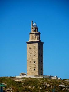 La Torre de Hércules, símbolo de la ciudad de A Coruña que se apagará durante la Hora del Planeta
