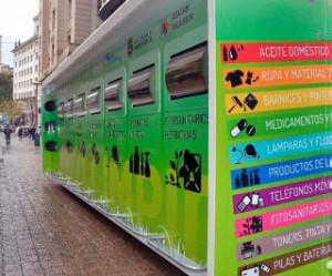 Santander ha triplicado en dos años los residuos depositados por los vecionos en los puntos limpios móviles