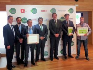 Los premios Eco reconocen la contribución de los distribuidores al reciclaje de residuos ofimáticos