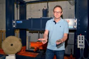 Desarrollan un nuevo hormigón  ecoeficiente a partir de residuos industriales