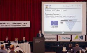 El Consorcio de Residuos de Gipuzkoa presentó la planta TMB de Zubieta en el Congreso Internacional Waste to Resources