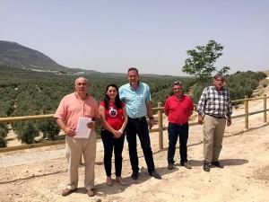 la Junta de Andalucía clausura un vertedero en Jaén