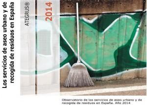 Portada del observatorio ATEGRUS sobre los servicios de aseo urbano y recogida de residuos