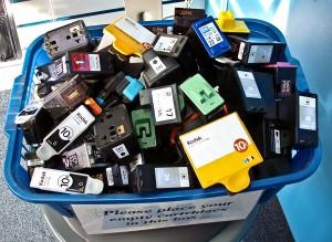 El 70% de los españoles no recicla sus cartuchos y tóneres de impresora