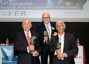 La FER entrega sus premios Madre Tierra y una Vida Dedicada a la Recuperación