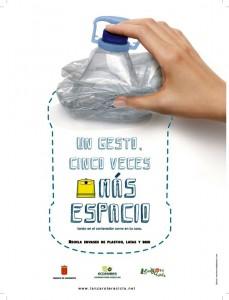 Imagen de la nueva campaña para mejorar el reciclaje de envases en Lanzarote