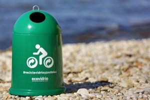 Los ganadores de cada etapa de la Vuelta reciclarán la botella con la que celebran la victoria