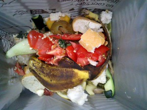 Residuos orgánicos separados en origen para su posterior tratamiento