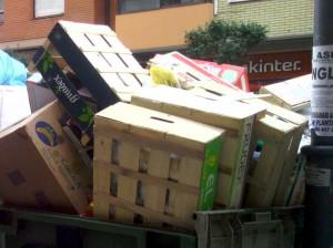 El 75% de los envases, embalajes y palés de madera se aprovecharon para su reciclaje o valorización energética