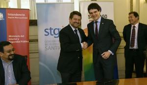 Bizkaia colaborará con la Región Metropolitana de Santiago en materia de residuos