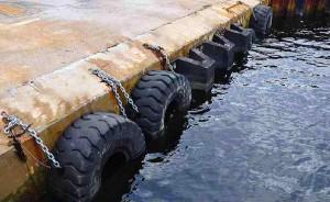 Reutilización de neumáticos de camión en el Puerto de Bilbao