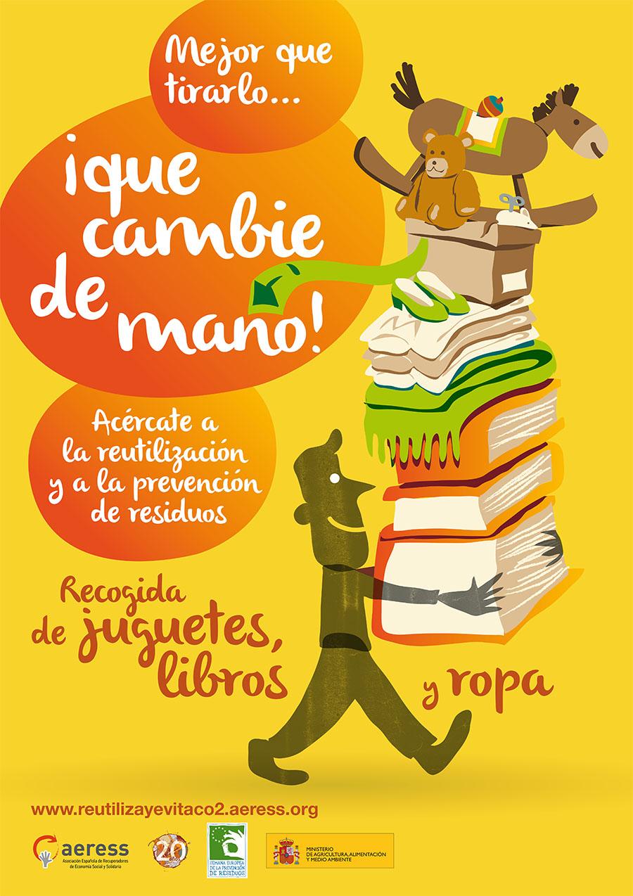 IV campaña de recogida y reutilización de juguetes, ropa y libros